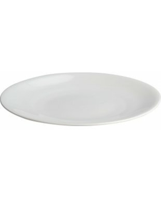 """Alessi All-Time 11"""" Bone China Dinner Plate"""