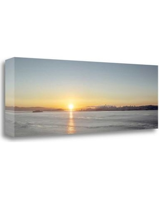 Tangletown Fine Art 'Sunrise Vista on the Bay' Graphic Art Print on Wrapped Canvas ICB3181D-4013c