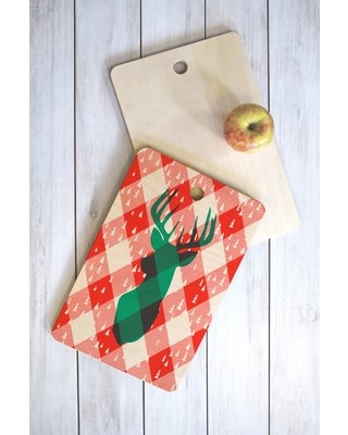 Find Savings On East Urban Home Zoe Birch Wood Cutting Board East Urban Home Shape Rectangle