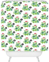 Deny Designs Andi Bird Help Me Holiday Shower Curtain 51776-shocur