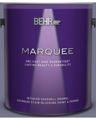 BEHR MARQUEE 1 gal. #630F-5 Vintage Eggshell Enamel Interior Paint and Primer in One