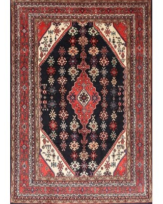 Find The Best Deals On Leidesdorff Traditional Red Black Area Rug Bloomsbury Market Rug Size Rectangle 2 X 4