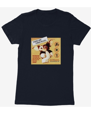 Gremlins Gizmo Rules Womens T-Shirt