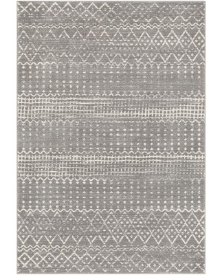 Artistic Weavers Eurydice Light Gray 6 ft. 7 in. x 9 ft. Moroccan Area Rug