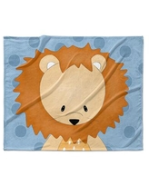 Isabelle & Max™ Claud Lion Ultra Soft Baby Blanket X112791994 Color: Blue