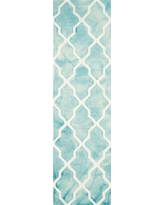 Page Accent Rug - Turquoise / Ivory (2'3 X 6') - Safavieh