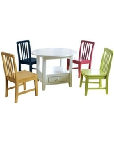 Zoomie Kids Bump Kids Writing Table and Chair Set W000258352