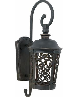 Maxim Lighting Whisper Dark Sky Led 19 Inch Tall 1 Light LED Outdoor Wall Light - 55393BZ