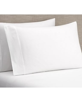 PB Classic 400-Thread-Count Organic Sheet Set, Twin XL, White