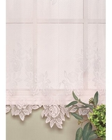 Amazing Deal On Charleville Sheer Divine Tier Cafe Curtain August Grove Size 36 H X 60 W X 1 D Color Ecru