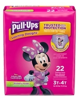 Pull-Ups Learning Designs Girls' Training Pants, 3T-4T, 20 ct | CVS