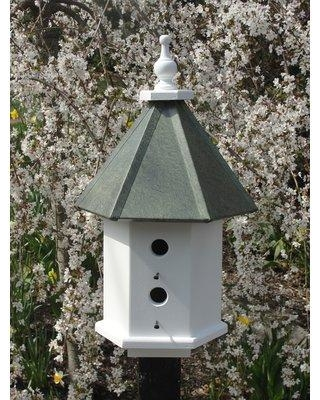 Wooden Expression Birdhouses Estate 26 in x 15 in x 15 in Birdhouse DL42 Color: Faux Patina