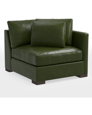 Wrenton Leather Sectional Right Arm Chair