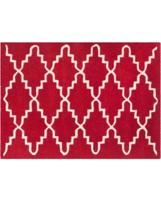 Safavieh Chatham Lattice Wool Rug, Red
