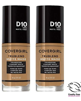 COVERGIRL COVERGIRL smoothers all day hydrating foundation, soft honey, pack of 2, 1 Ounce