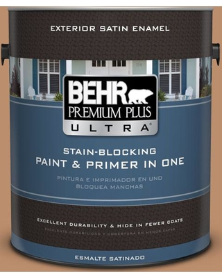 Find Savings On Behr Ultra 1 Gal 260f 5 Applesauce Cake Satin Enamel Exterior Paint And Primer In One