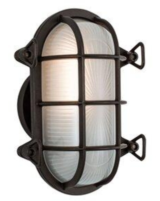 Don T Miss These Deals On Norwell Lighting Mariner 1 Bulb Outdoor Bulkhead Light Finish Bronze Glass Metal In Bronze Chrome Size 9 H X 6 W X 4 D Wayfair 1101 Br Fr