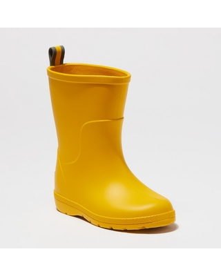 Toddler's Totes Cirrus Charley Rain Boots - Yellow 5-6, Toddler Unisex