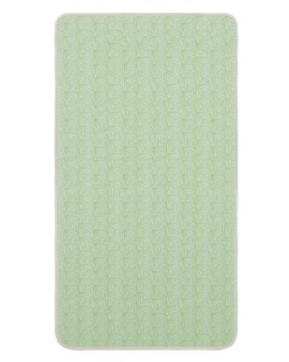 Dream On Me Story Time 2-Stage Crib and Toddler Mattress in Green