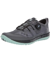 Saucony Women's Switchback ISO Trail Running Shoe, Grey/Mint, 10.5 M US