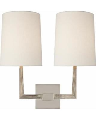 Visual Comfort and Co. Barbara Barry Ojai 16 Inch Wall Sconce - BBL 2084PN-L
