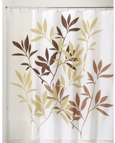 InterDesign Leaves Shower Curtain - Brown/Taupe (Brown/Brown) (72x72)