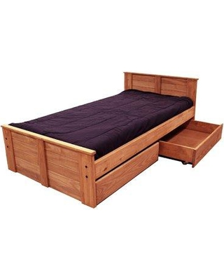 Harriet Bee Chesser Twin Mate's & Captain's Bed with Storage HBEE7191