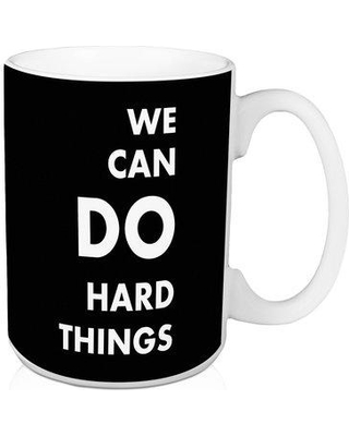 Jaxn We Can Do Hard Things 15 oz. Coffee Mug 5016-BG