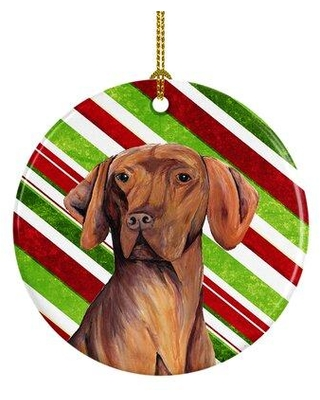 Can T Miss Deals On The Holiday Aisle Vizsla Holiday Christmas Ceramic Hanging Figurine Ornament Ceramic Porcelain In Red Yellow Blue Size 3 H X 3 W Wayfair