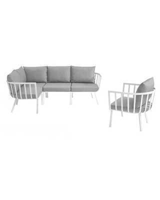 Montclaire Outdoor Patio Sectional with Cushions