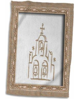 Shop Deals For Symple Stuff Spanish Church Towel Terry In Brown White Size 22 W X 15 D Wayfair 36b14bab339a469ca95a2801721389e1
