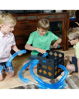Zipes Speed Pipes Crazy Cube - Trains & Vehicles for Ages 5 to 12 - Fat Brain Toys