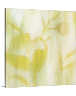 "Great Big Canvas 'Color Bloom V' Rikki Drotar Painting Print 2232972_ Size: 8"" H x 8"" W x 1.5"" D Format: Canvas"