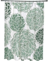 Latitude Run Velasquez Shower Curtain LATR8458 Color: Green