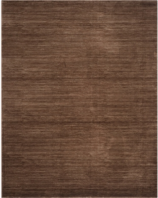 10'X14' Solid Loomed Area Rug Brown - Safavieh