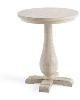 Bee & Willow™ Home Pedestal Side Table in Light Natural