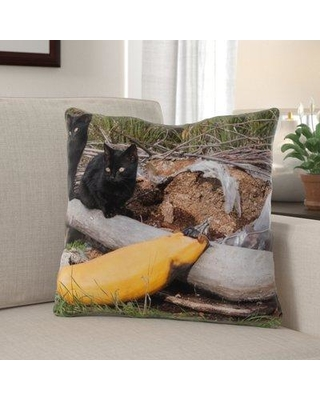 The Holiday Aisle Galena November Indoor/Outdoor Throw Pillow W000034928