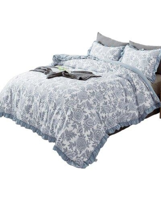 Canora Grey Stanberry Reversible Comforter Set W001233301 Size: Queen Comforter + 2 Shams