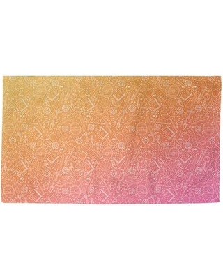New Seasonal Sales Are Here 44 Off Latitude Run Avicia Sunset Ombre Rpg Orange Red Area Rug X112270341 Rug Size Rectangle 2 2 X 3 4
