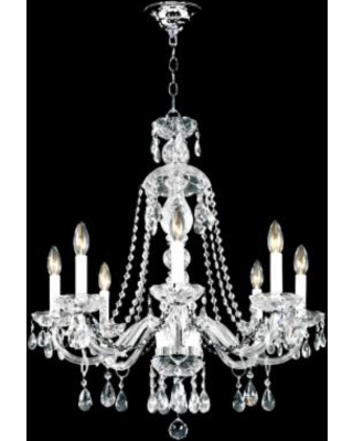 """James R. Moder 28"""" Wide Palace Ice 8-Light Chandelier"""