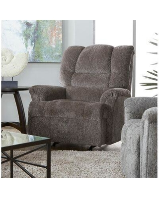 Amazing Deal On Red Barrel Studio Yother Manual Rocker Recliner Upholstery Polyester Polyester Blend In Lewis Smoke Size Standard 39 49 Wide Wayfair