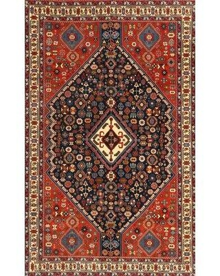 Bloomsbury Market Shylo Traditional Red/Black Area Rug X112035919 Rug Size: Rectangle 3' x 5'