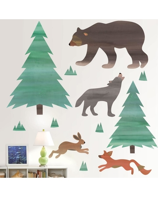 Wall Pops Multi-Color Call of The Wild Wall Decal