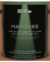 BEHR MARQUEE 1 gal. #MQ2-06 Gilded Glamour Semi-Gloss Enamel Exterior Paint and Primer in One