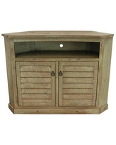 """Rosalind Wheeler Mackey Solid Wood Corner TV Stand for TVs up to 55"""" X112324442 Color: Rustic Barnwood"""