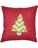 The Holiday Aisle Virgia Holiday Floor Pillow THLA7002