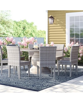 Rockport 9 Piece Dining Set Sol 72 Outdoor™