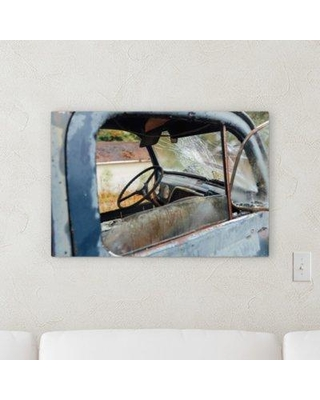 "Ebern Designs 'Old and Abandoned (189)' Photographic Print on Canvas BI140423 Size: 16"" H x 48"" W x 2"" D"