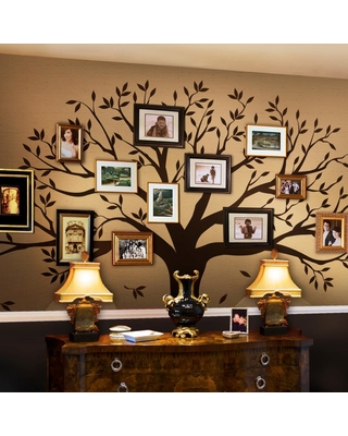 Spectacular Sales For Simple Shapes Family Tree Wall Decal Tree Wall