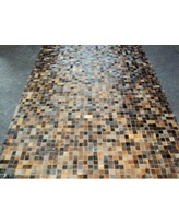 Modern Rugs Patchwork Baltic Brown Area Rug patchw5-102 Rug Size: Rectangle 3' x 4'